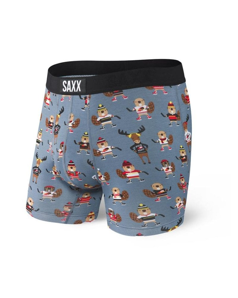 SAXX VIBE Boxer Brief / Grey Puch Yeah