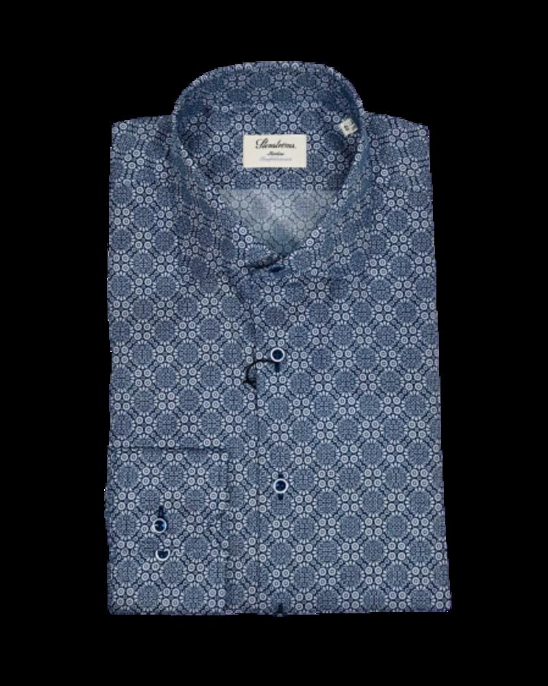 Stenstroms Stenstroms Casual Kaleidoscope Slimline Shirt