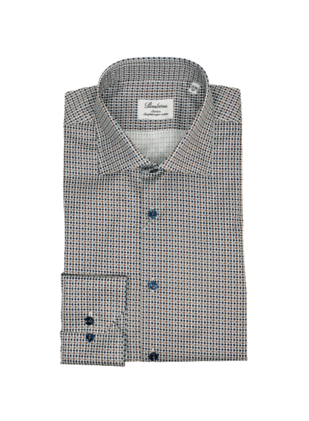 Stenstroms Micro Patterned Slimline Shirt