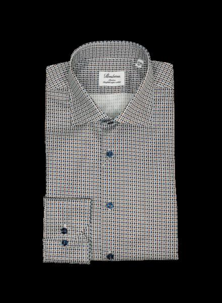 Stenstroms Micro Patterned Slimline Shirt