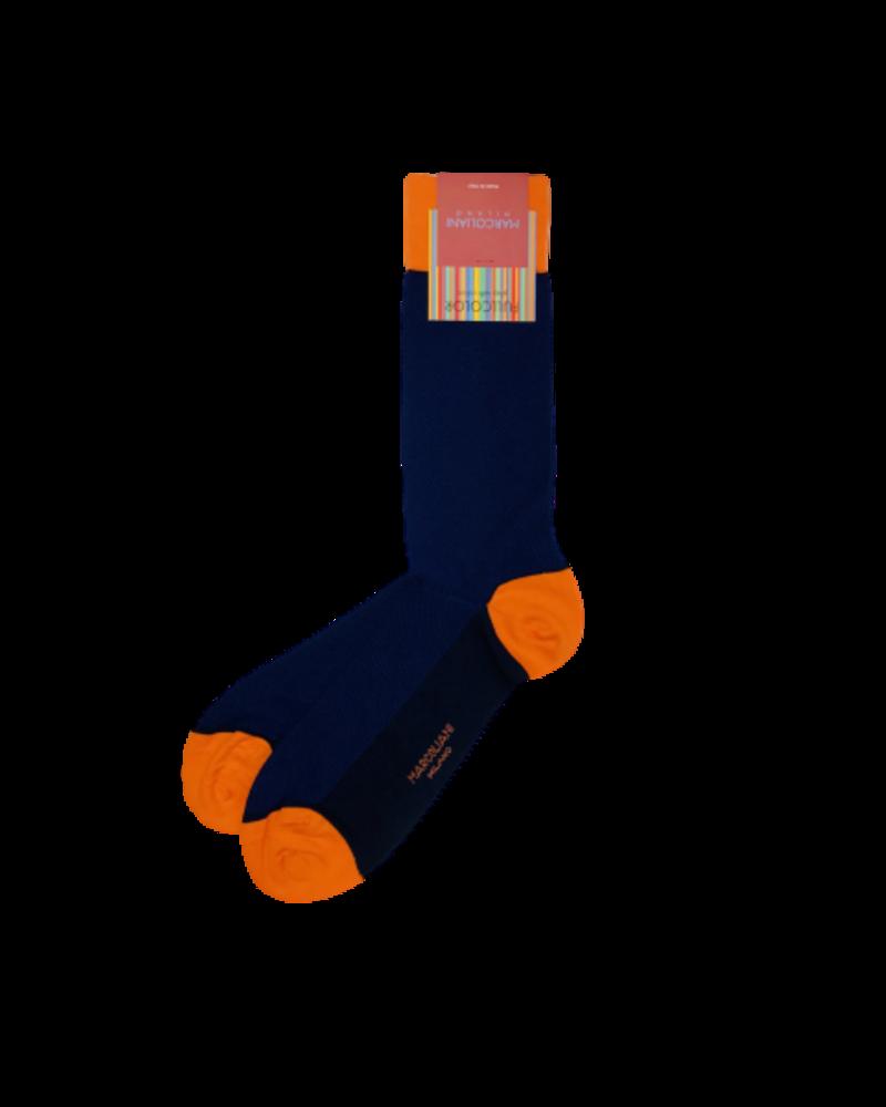 Marcoliani Marcoliani Pima Cotton Socks - Textured Two-tone