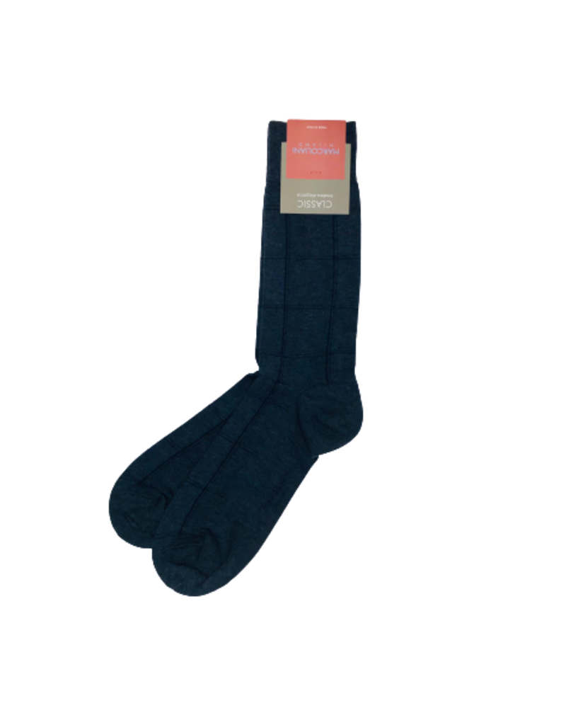 Marcoliani Marcoliani Pima Cotton Socks - Windowpane