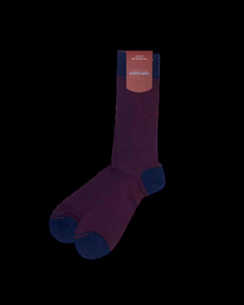 Marcoliani Marcoliani Pima Cotton Socks - Textured Knit