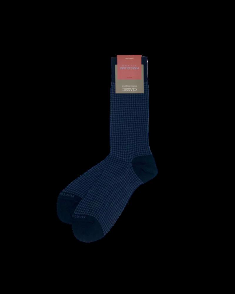 Marcoliani Marcoliani Pima Cotton Socks - Houndstooth