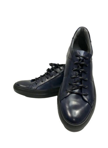 Alberto Lanciotti 9061 Sneaker with Black Rubber Sole