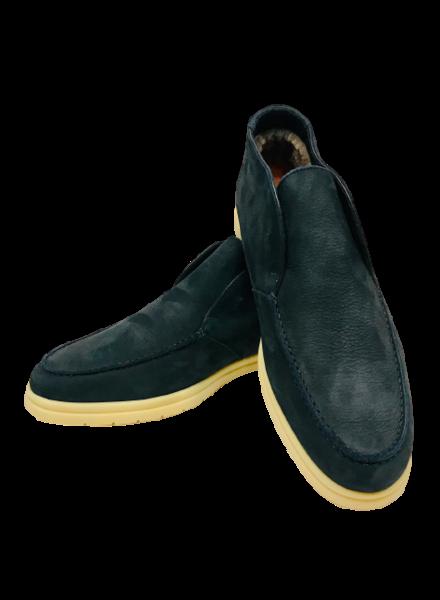 Andea Ventura Shearling Suede Shoes