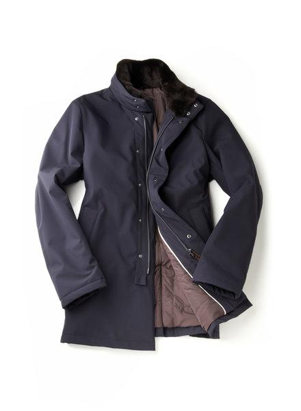 Topcoat W Fur Collar