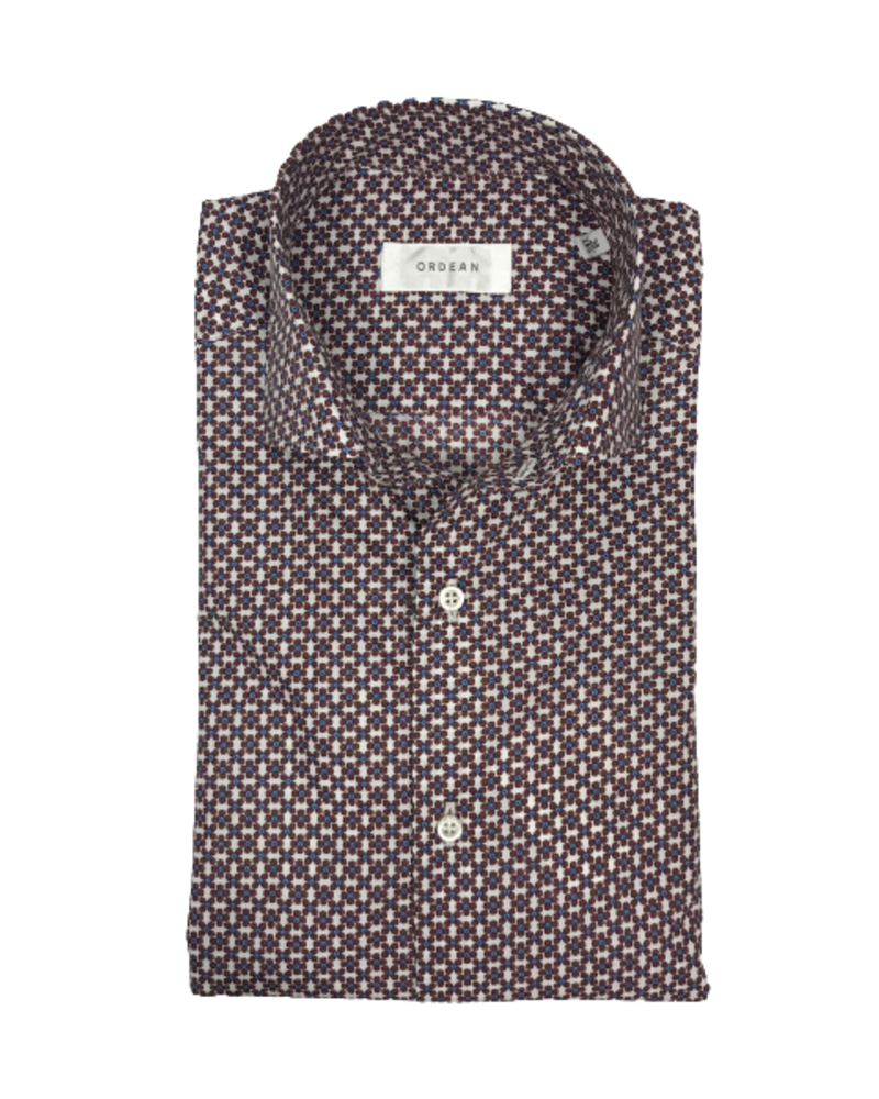Ordean Ordean Floral Print Shirt