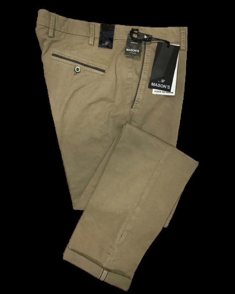 Mason's Mason's Washed Cotton Pants