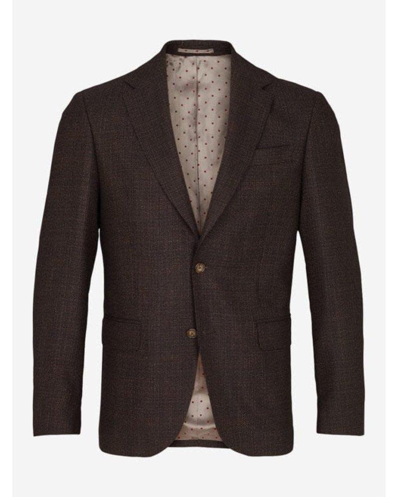 Sand Sand Half-lined Textured Jacket