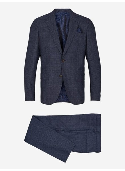 Sand Subtle Plaid Suit