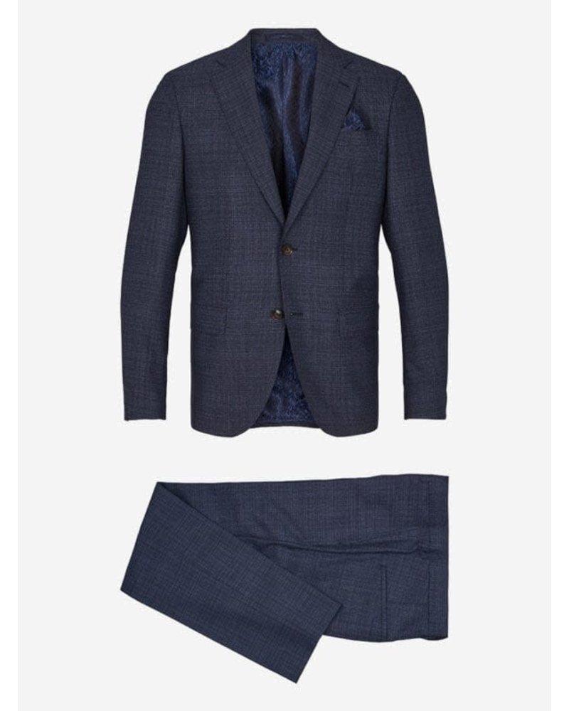 Sand Sand Subtle Plaid Suit