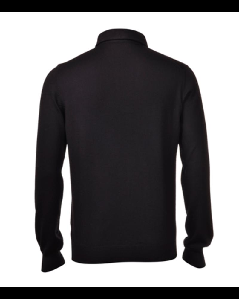 Gran Sasso Gran Sasso Extra-Fine Merinos Wool Polo Sweater