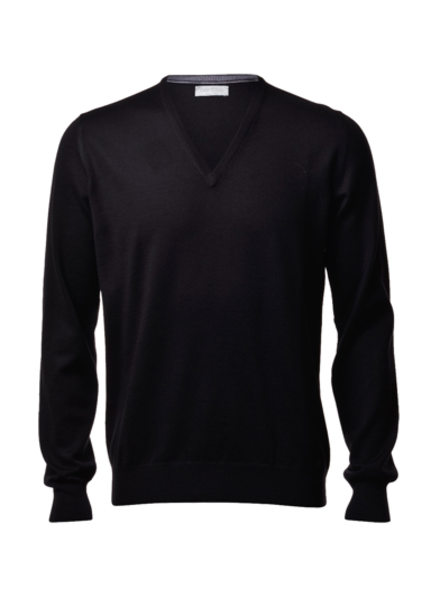 Gran Sasso Merino Wool V-Neck Sweater