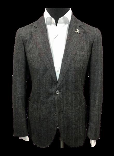 TMB Charcoal Plaid Jacket