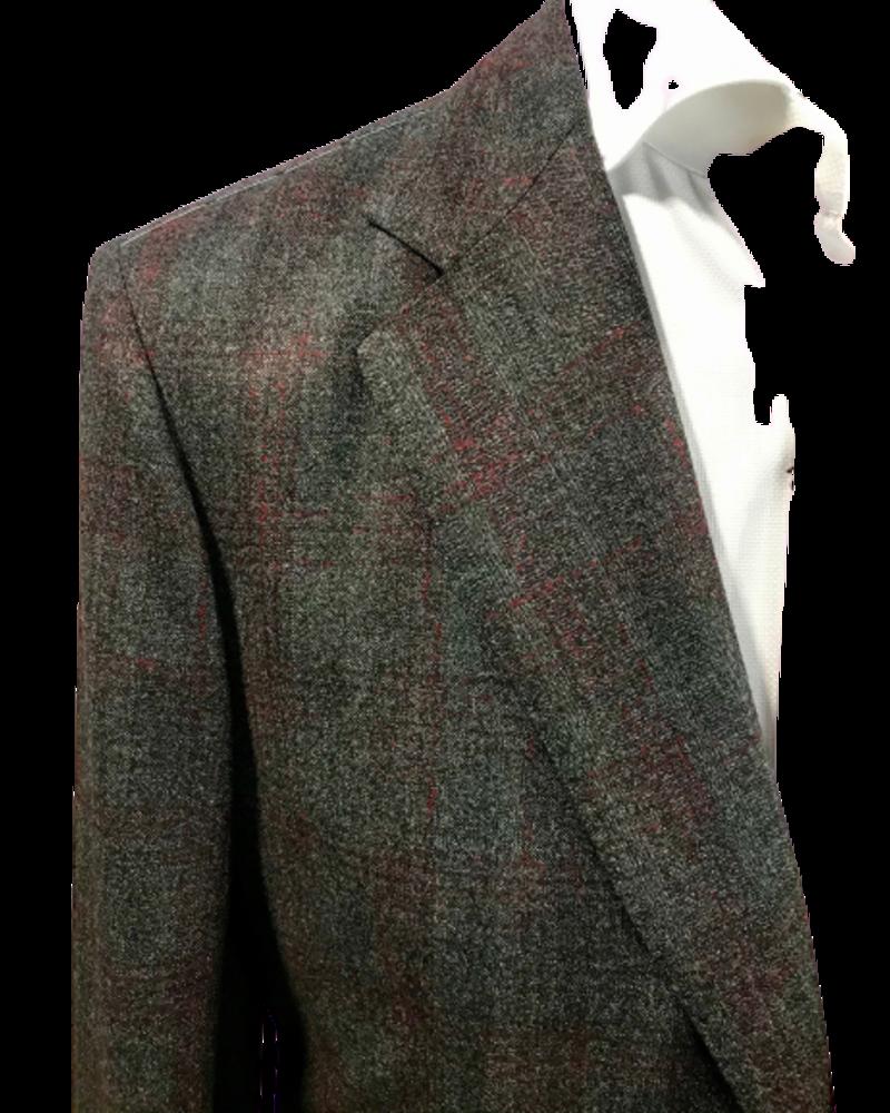 TMB TMB Charcoal Plaid Jacket