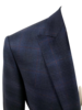 Pal Zileri PZ Glen Check Sport Jacket with Red Windowpane