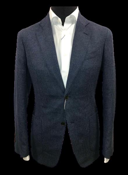 Profuomo Wool Cotton Hopsack Jacket