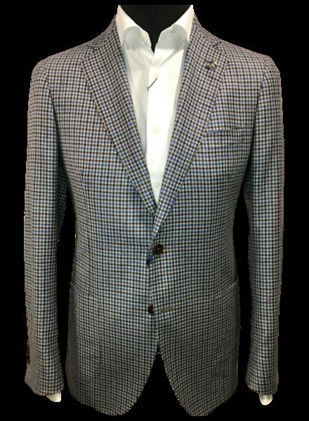 TMB Half-lined Mini Check Jacket