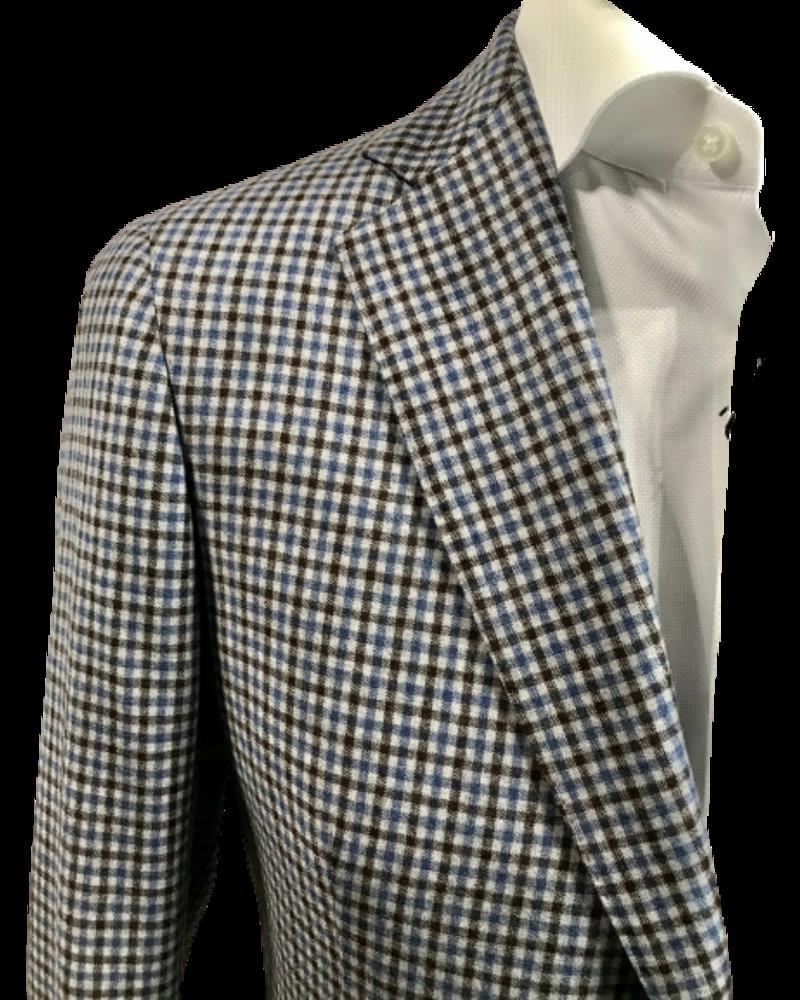 TMB TMB Half-lined Mini Check Jacket