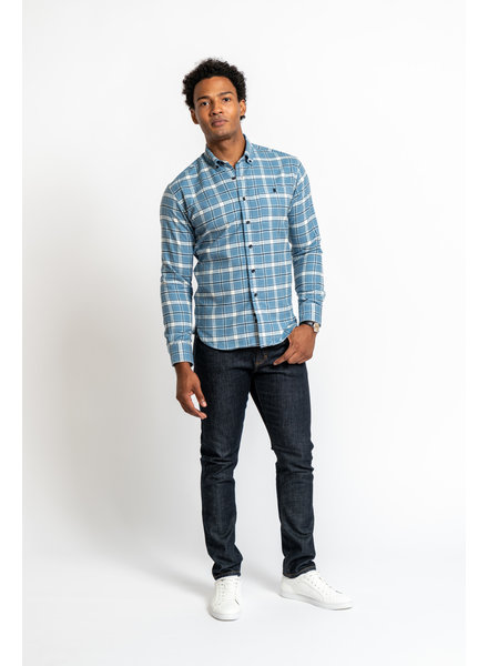 Kovalum Botton-Down Plaid Shirt