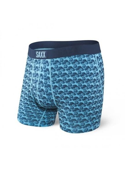 SAXX ULTRA Boxer Brief / Blue Tropic Storm