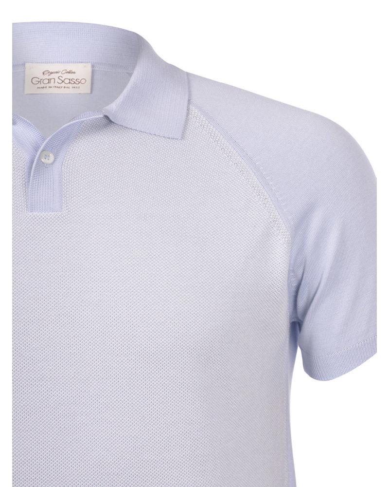 Gran Sasso Organic Cotton Knit Polo