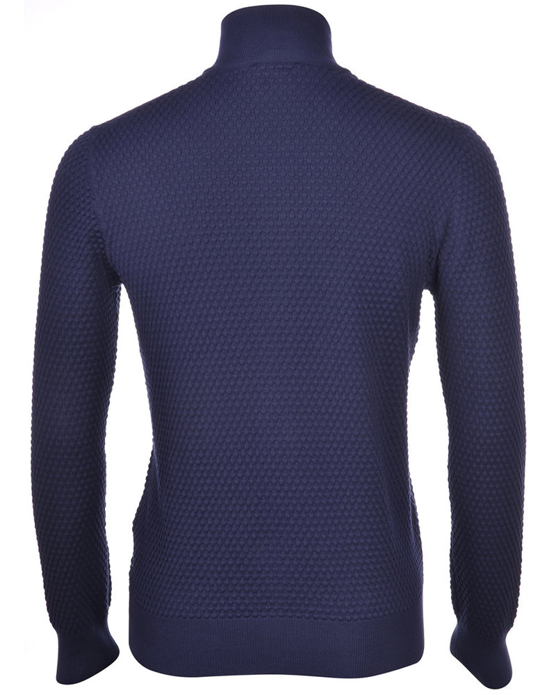 Gran Sasso Full Zip PopCorn Sweater