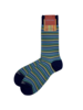 Marcoliani Marcoliani Pima Cotton Socks - Positano Stripe