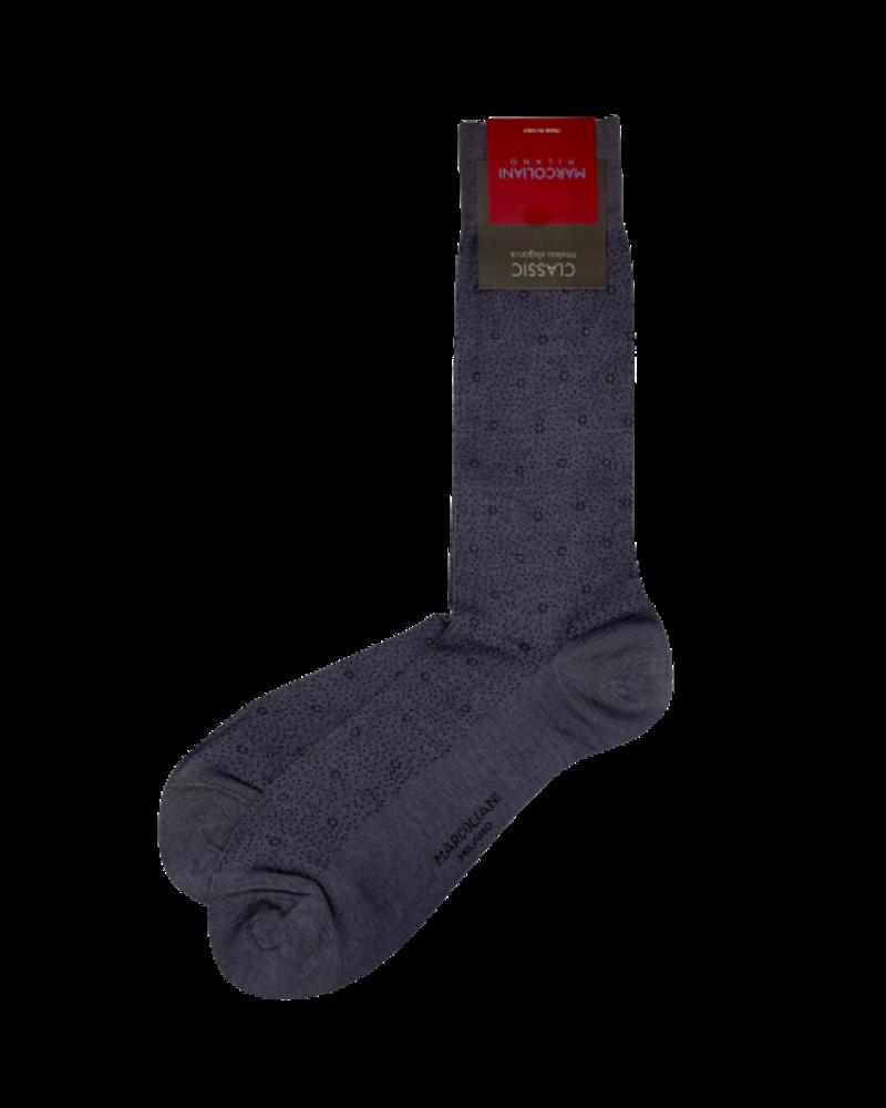 Marcoliani Marcoliani Pima Cotton Socks - Birdseye Flower