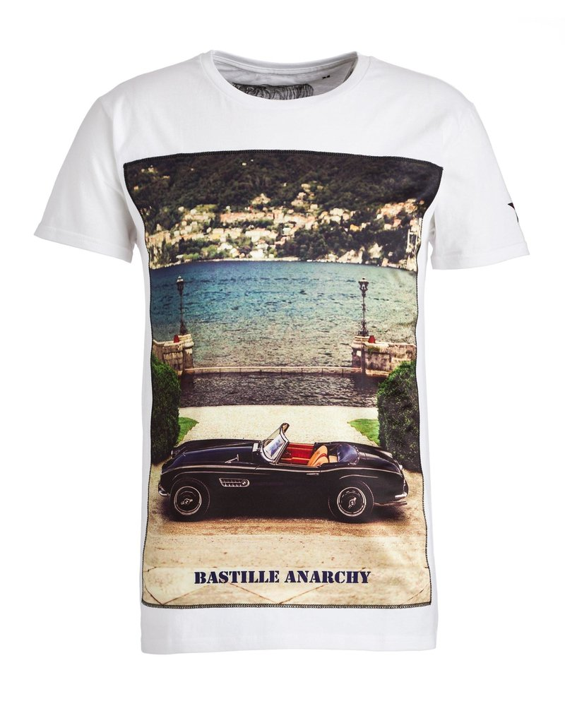 Bastille Bastille Icon Silk T-shirt