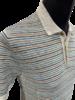 Gran Sasso Gran Sasso Linen Stripe Polo