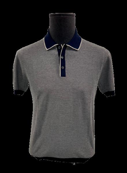 Gran Sasso Knit Cotton Polo Shirt