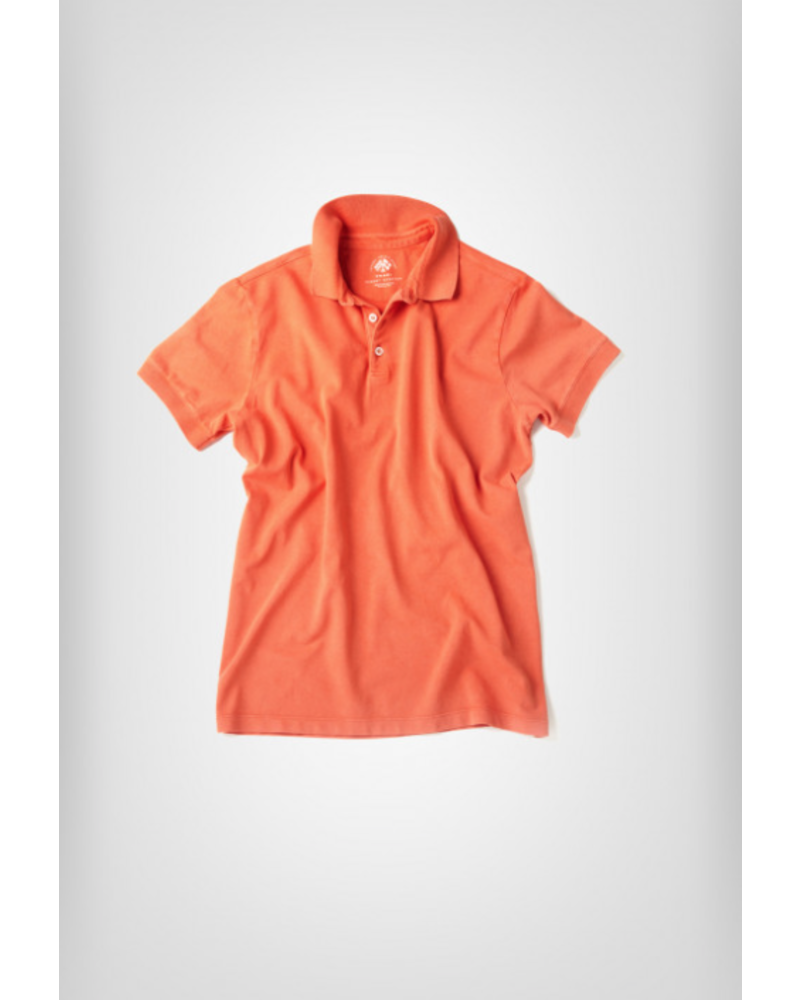 FRADI Fradi Frosted Garment Dyed Polo
