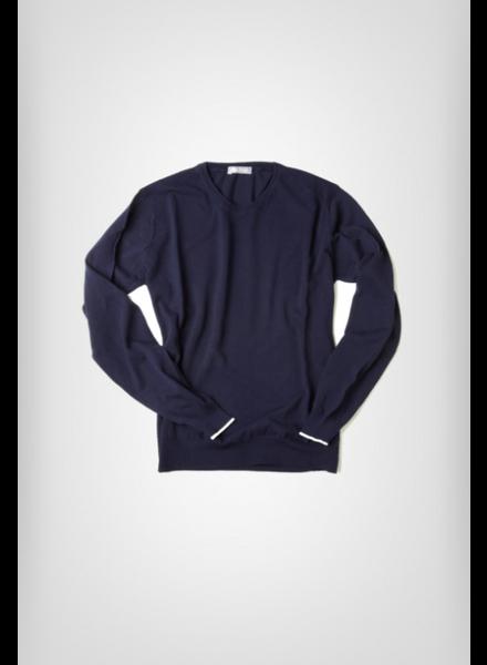FRADI Cotton Crepe Sweater