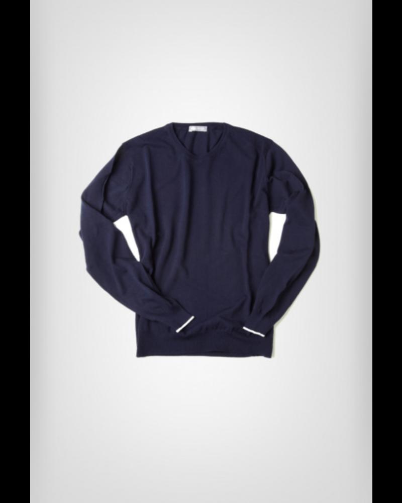 FRADI Fradi Cotton Crepe Sweater