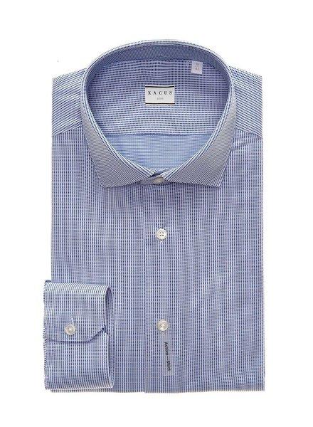 Xacus Blue Textured Active Shirt