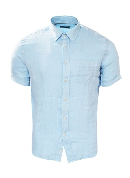 Benson Short Sleeved Linen Shirt