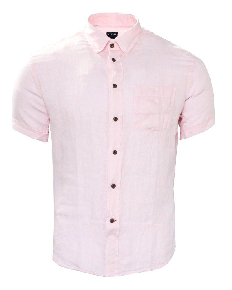 Benson Benson Short Sleeved Linen Shirt