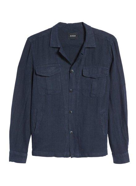 Benson Linen Shirt Jacket