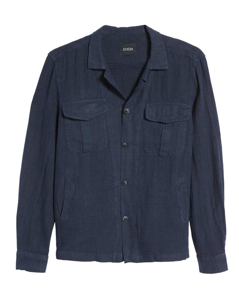 Benson Benson Linen Shirt Jacket