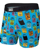 SAXX VIBE Boxer Brief / Blue Dad Joke Koozies