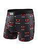 SAXX VIBE Boxer Brief / Charcoal Puck Tooth