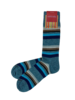 Marcoliani Marcoliani Pima Cotton Socks - Eclectic Stripe