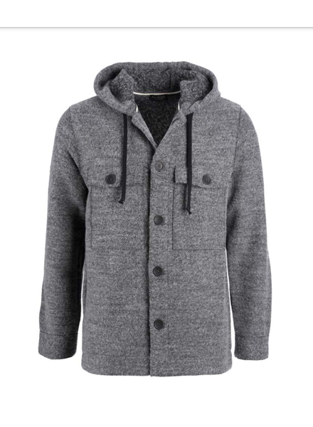 Phil Petter Boucle Twill Hoodie Jacket