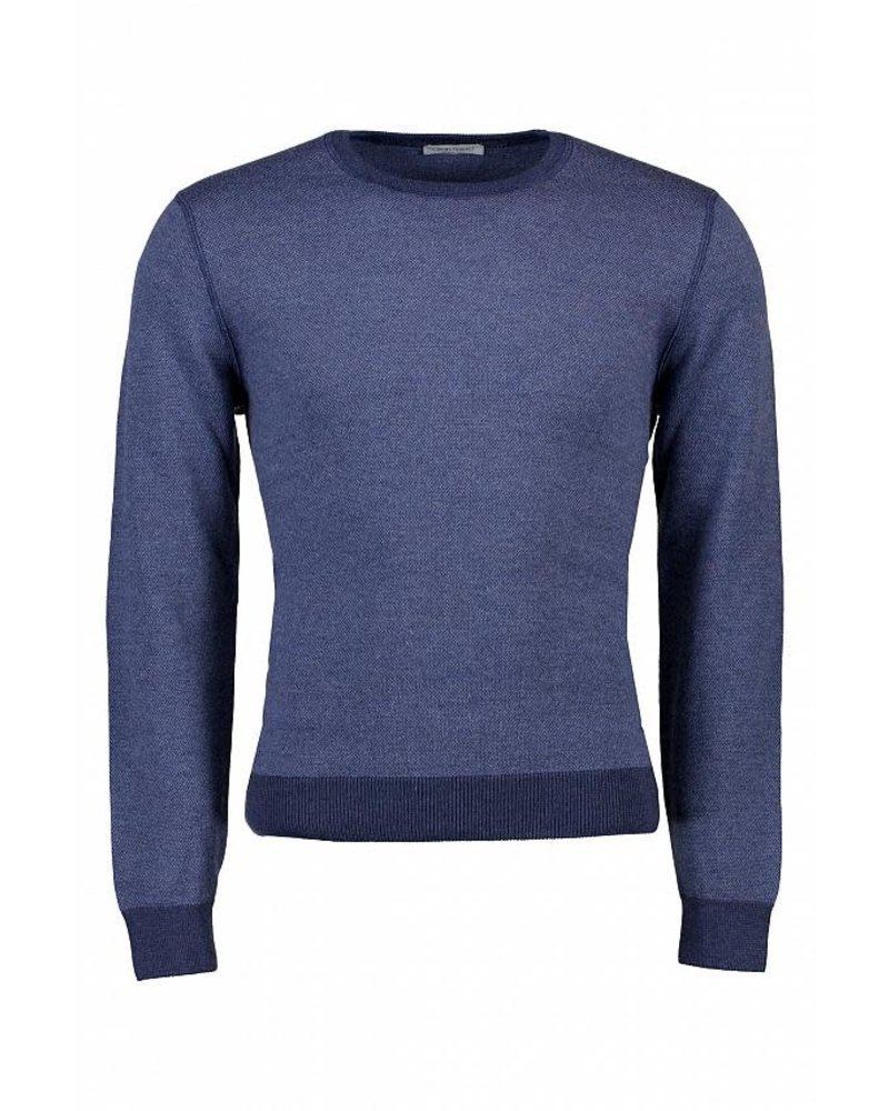 Gran Sasso GS Extra Fine Merino Crew Neck Sweater