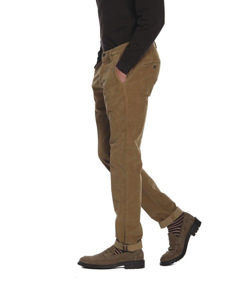 Mason's Mason's Torino Style Chino Pants in Velvet