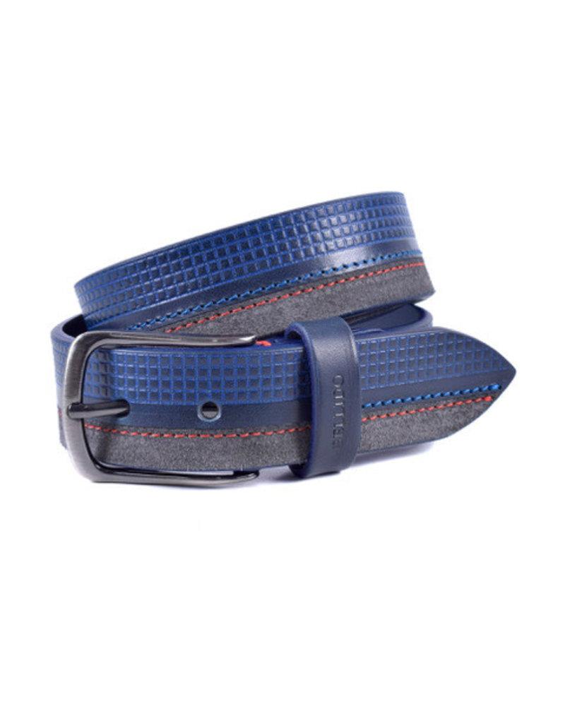Miguel Bellido Miguel Bellido Men's Cowhide Leather/Suede Belt