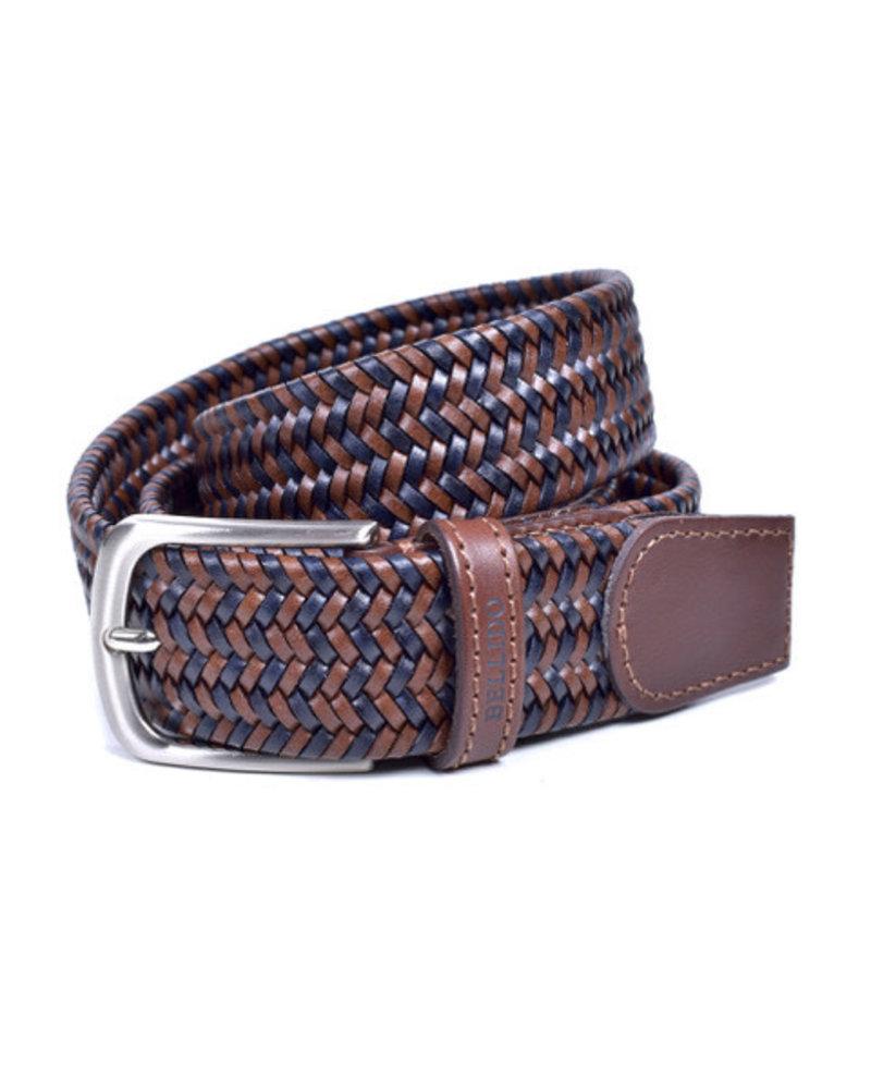Miguel Bellido Miguel Bellido Men's Braided Leather Belt