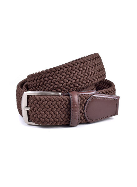 Miguel Bellido Braided Leather/Rayon Belt
